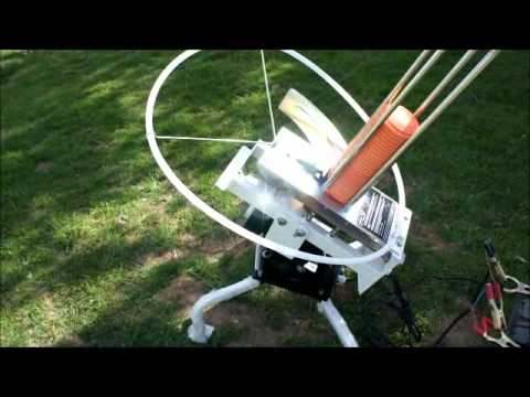 winchester clay target thrower assembly instructions