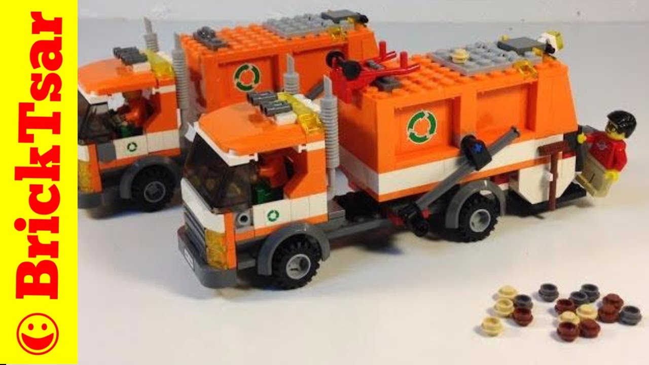 Lego city garbage truck 7991 instructions