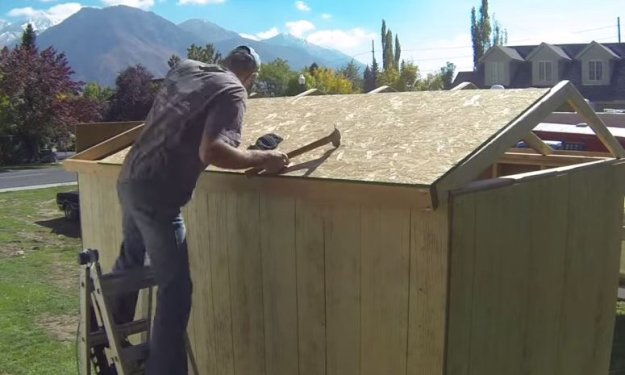cheapest way to build a shed step by step instructions