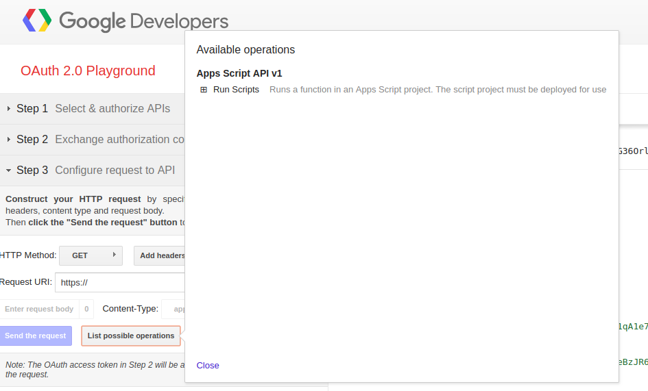 Google appsscript document find a list append to it