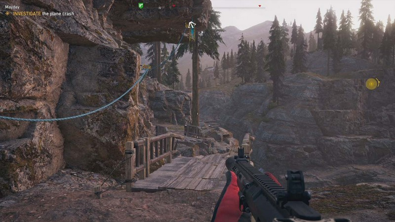 Far cry 4 how to balance in the rope grapple