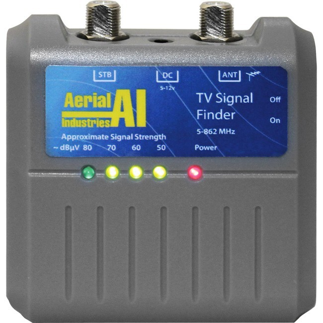 aerial signal strength meter instructions