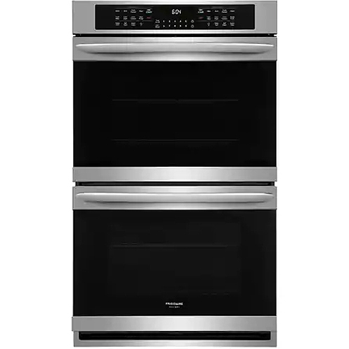 frigidaire gallery double wall oven manual