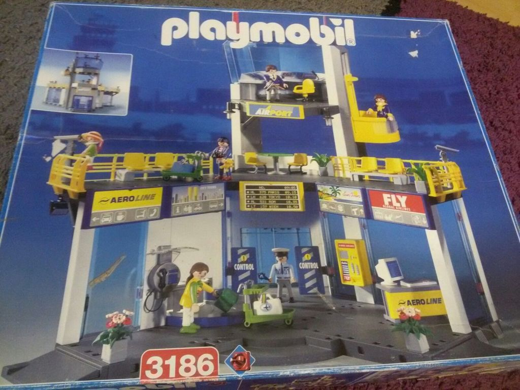 playmobil airport instructions 3186